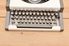 Typewriter on wood Royalty Free Stock Photography