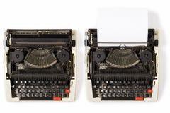 Typewriters royalty free stock photo