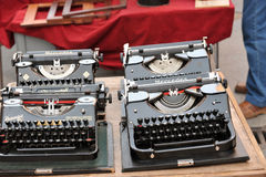 Typewriters. Stock Photo