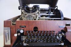 Typewritertelex machine Stock Images