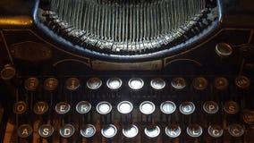 Typewriting Machine Stock Photography