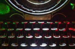 Typewriting Machine Royalty Free Stock Photography
