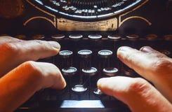 Typewriting Machine Stock Images