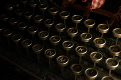 Typewritter stock fotografie