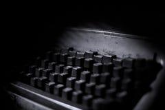 Typewritter keys Stock Photos