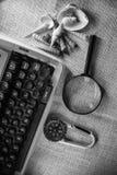 Typewritter velho Fotos de Stock Royalty Free