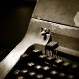 Typewritter viejo Fotografía de archivo
