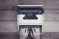 Typförfattare för bästa sikt Arkivfoto