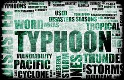 Typhoon Stock Image