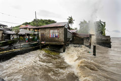Typhoon Haiyan's hits Philippines Royalty Free Stock Photos
