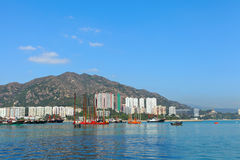 Typhoon shelter in Hong Kong Royalty Free Stock Photography