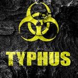 Typhus concept background Royalty Free Stock Photos