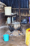 Typical African kitchen Royalty Free Stock Photography