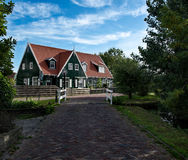 Typical agricultural house in Marken Royalty Free Stock Photo