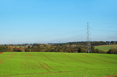 Agricultural landscape of Walloon Stock Photography