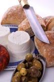 Typical alentejo ingredients Stock Images