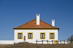 Typical Algarve house royalty free stock photo