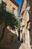 Typical alley in southern Italy stock photos