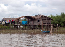 Typical Amazon Home (the Amazonia) Royalty Free Stock Images