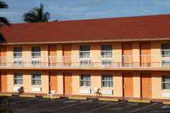 Typical American Motel Royalty Free Stock Photos