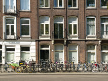 Typical Amsterdam Architecture Stock Image