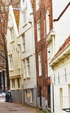 Typical Amsterdam houses Stock Photography
