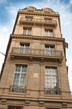Typical ancient parisian Building in Paris Royalty Free Stock Image