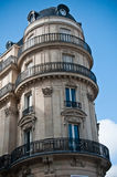 Typical ancient parisian Building in Paris Royalty Free Stock Photo