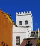 Typical andalusian houses in Sevilla Royalty Free Stock Photography