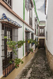 Typical Andalusian street II Stock Photo