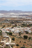 Typical Andalusian village in the south of Spain. Royalty Free Stock Photos