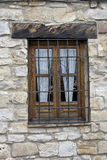 Typical Andalusian window in a traditional house of Ubeda Royalty Free Stock Photography