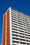 Typical apartment building in East Berlin Stock Images