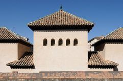 Typical Arab palace in Granada Royalty Free Stock Image