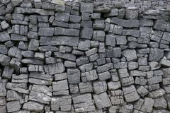 Free Typical Aran Island Connemara Stone Wall Stock Photography - 43214022