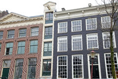 Typical architecture in Amsterdam, Netherlands royalty free stock photo