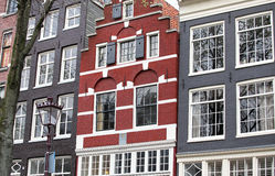 Typical architecture in Amsterdam, Netherlands royalty free stock image