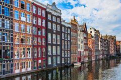 Typical architecture in Amsterdam. royalty free stock image