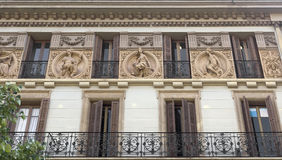Typical architecture of Barcelona Stock Photos