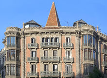 Typical architecture of Barcelona Stock Photography