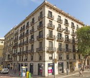 Typical architecture of Barcelona Royalty Free Stock Photo