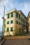 Typical architecture in Bogliasco Royalty Free Stock Photography