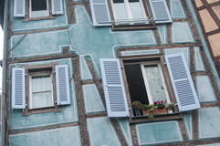 Typical architecture in Colmar Stock Photography