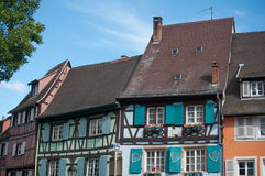 Typical architecture in Colmar Stock Photos