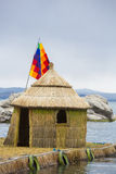Typical architecture on the Lake Titicaca, Bolivia Royalty Free Stock Image
