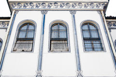 Typical architecture in the old town, Plovdiv Stock Images