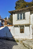 Typical architecture of old town of Xanthi, East Macedonia and Thrace Stock Photos