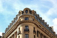 Typical architecture in Paris Royalty Free Stock Photography