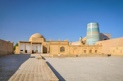 Typical architecture in Uzbekistan Royalty Free Stock Photography