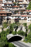 Typical architecture in Veliko Turnovo, Bulgaria Stock Photo